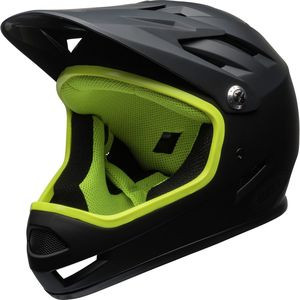 Sanction Helmet Matte Black/Retina Sear, L - Good