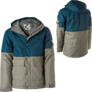 Puffy Woods Jacket - Men's Cinder/Thunderstorm Blu