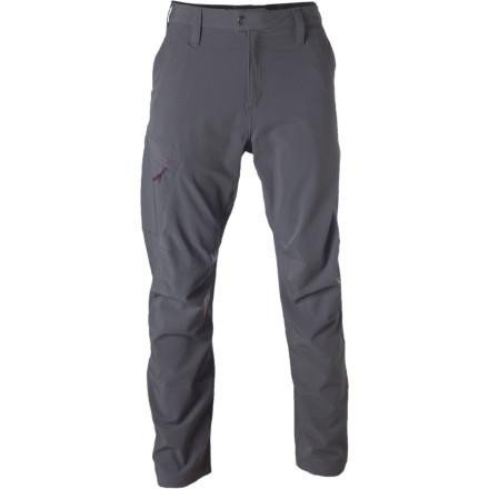 Stoic Overhang Men's Large Softshell Pants, Gray
