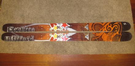 2013 Blizzard Cochise 170 cm all mountain skis