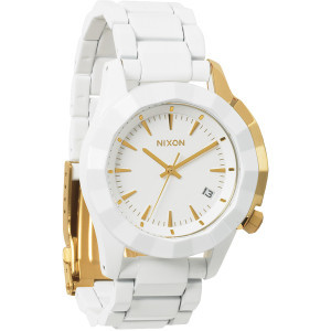 Monarch Watch - Women's All White/Gold, One Size -
