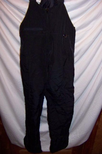 Ski Gear Insulated Snow Ski Pants Bibs, Men's Large