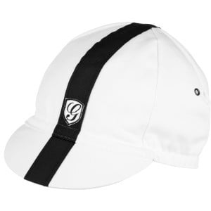 Sport Cycling Cap White/Black, One Size - Like New