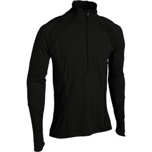 NTS Lightweight Zip Top - Men's Black, XXL - Excel