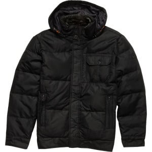 Hawke Down Jacket - Men's Black, M - Excellent