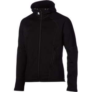 Breaker Fleece Hooded Jacket - Men's Black, L - Ex