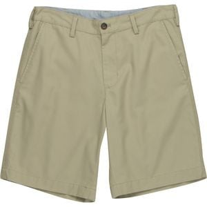 Flat Front Washed Twill Short - Men's  Dark Khaki, 36 - Like New
