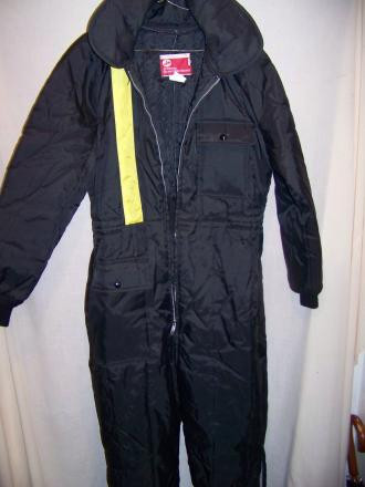 Vintage JC Penney Insulated Snowmobile Suit, MED