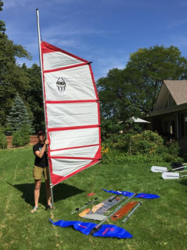 Canoe/Kayak Sail Rig : Nearly new: Balogh Sail Designs/Universal Mount