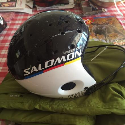Salomon race helmet