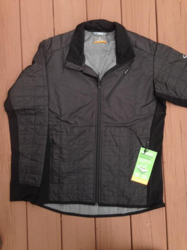 Icebreaker Men's Helix LS Zip Jacket size Large Black