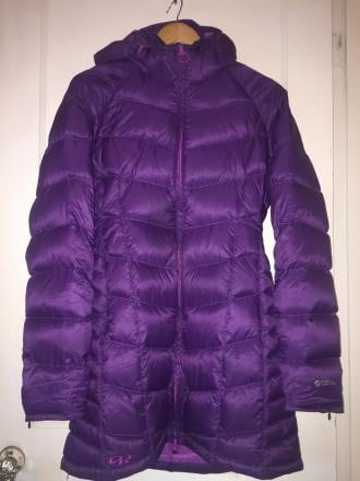 Women's Outdoor Research Sonata Parka Large-Elderberry