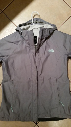 The north face shell rain jacket