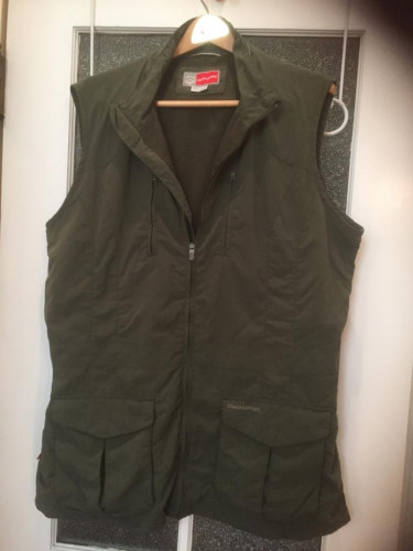 National Geographic Women's Quick Dry Cargo Vest Size 16