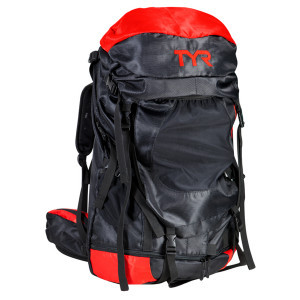 Convoy Transition Backpack - 4577cu in Black/Red, One Size - Like New