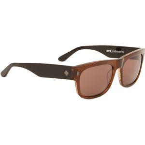Hennepin Sunglasses - Happy Lens Sepia-Black/Happy Bronze, One Size -