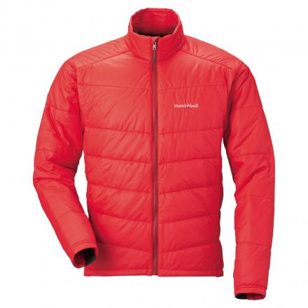 Mont-Bell U.L. Thermawrap Jacket Red Men's Large