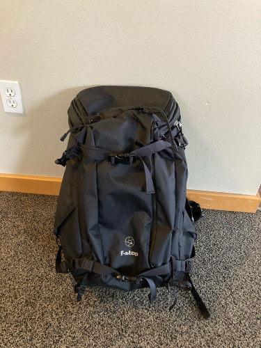 F-Stop video/photo backpack (Tilopa 50L + Medium ICU)