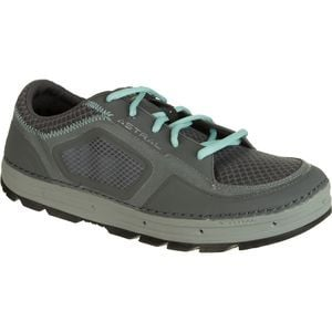 Aquanaut Water Shoe - Women's Gray/Turquoise, 8.0 - Excellent