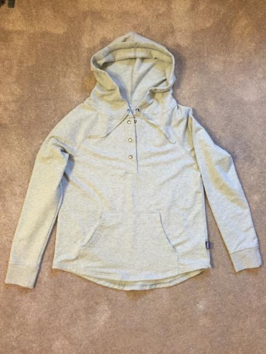 Patagonia W's Ahnya Pullover, Gray, Medium Reg Fit
