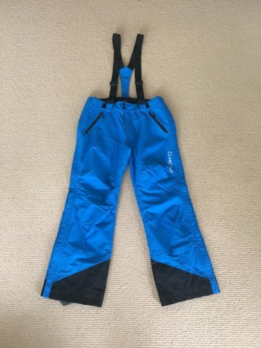 Arctica adult side zip snow pants 2.0 blue size medium