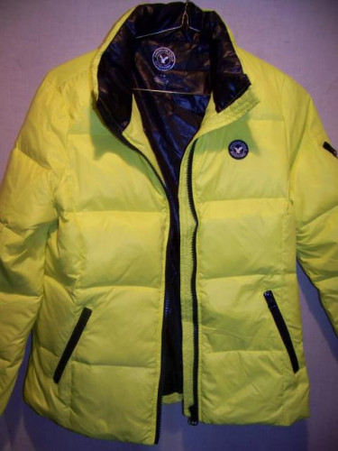 American Eagle Down Puffy Jacket, Girls Large