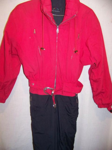 Vintage Bogner One Piece Insulated Ski Suit, Womens 10 Long Medium