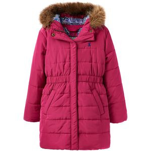 Merrydale Padded Longline Coat - Girls' Ruby, 11/12 - Excellent