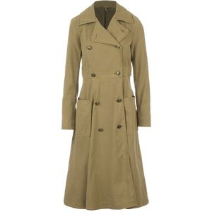 Full Sweep Trench Jacket - Women's Khaki, XS - Excellent