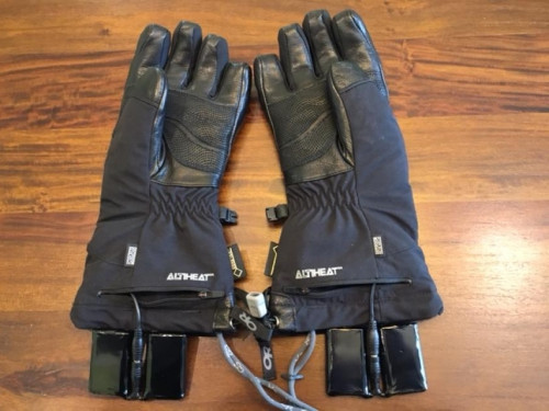 Outdoor Research Lucent Heated Gloves, Unisex XS
