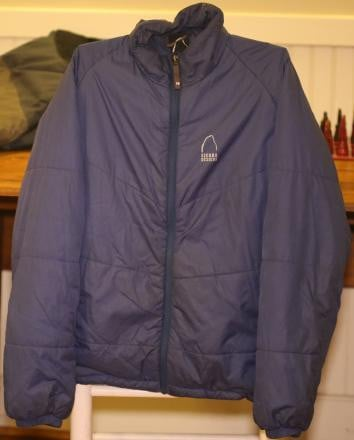 Sierra Designs Packable Jacket Polarguard 3D Used