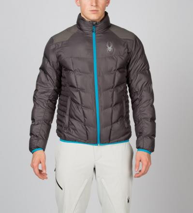 New- Spyder Geared Synthetic Down Jacket