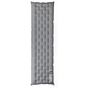 Insulated Q-Core Sleeping Pad Silver/Gray, Reg - E
