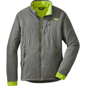 Superlayer Insulated Jacket - Men's Pewter/Lemongr