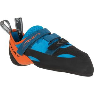 Shaman Climbing Shoe - Men's Blue/Orange, 11.5 - Excellent