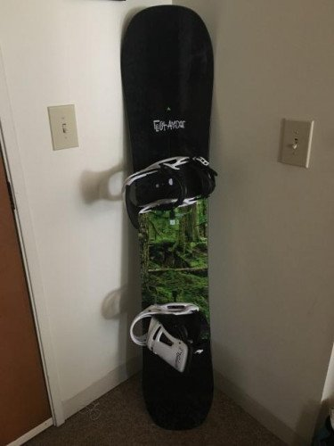 2017 Burton Flight Attendant w/ Burton Malavita bindings