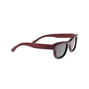 Westport Sunglasses Red Rosewood Wood/Black Poly, One Size - Good