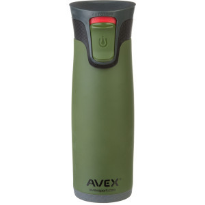 Highland Autoseal Stainless Thermal Mug - 16oz Matte Olive Green, One