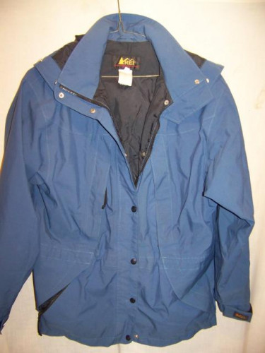 REI Gore-tex Rain Jacket Parka, Womens 10 Medium