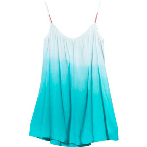 Strappy Gauze Dress - Women's Light Jade Dusk To D
