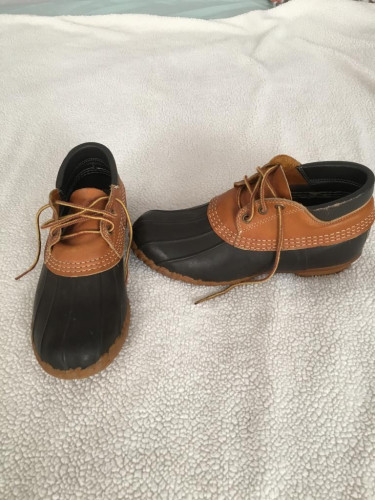 Vintage LL Bean Duck Boots Womens US size 9