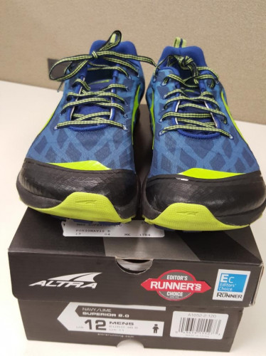 Altra Superior 2.0 Trail Running Shoe - Men's size 12D