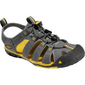 Clearwater CNX Sandal - Men's Gargoyle/Super Lemon, 9.5 - Excellent