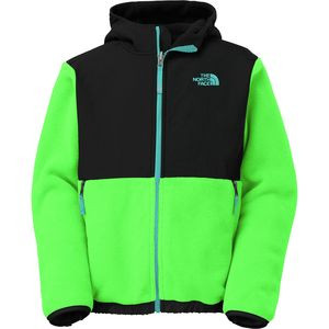 Denali Hooded Fleece Jacket - Boys' Recycled Krypton Green, XL(18/20)