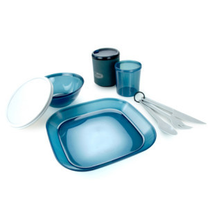 Infinity Tableset - 1 Person Blue, One Size - Exce