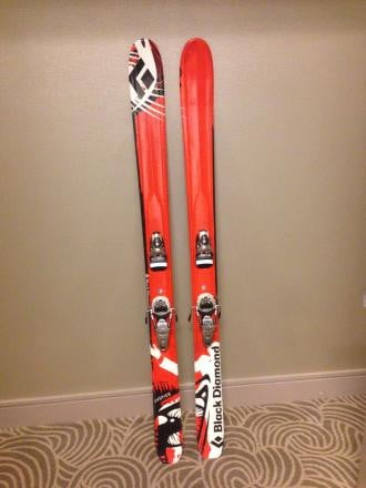 Black Diamond Justice Skis w/ Look Pivot Bindings!