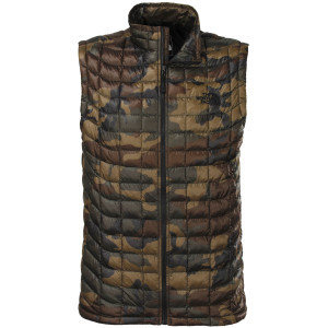 ThermoBall Insulated Vest - Men's Green Camo, XL -