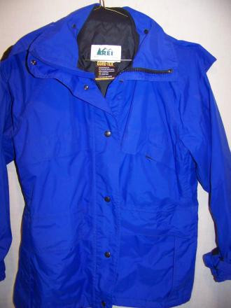REI Goretex Rain Parka Jacket, Womens 10 Medium