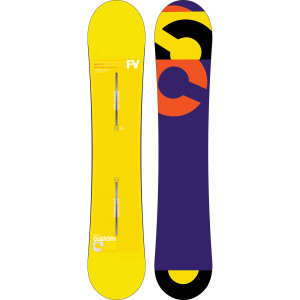 Photograph of  Custom Flying V Snowboard One Color, 148cm - Like  view 1