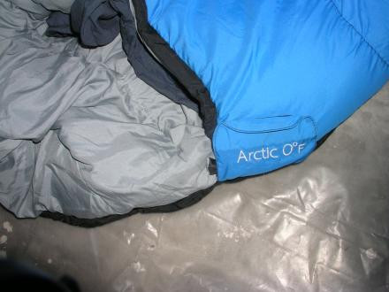 ARCTIC 0 F Snythetic Sleeping Bag By EXXEL